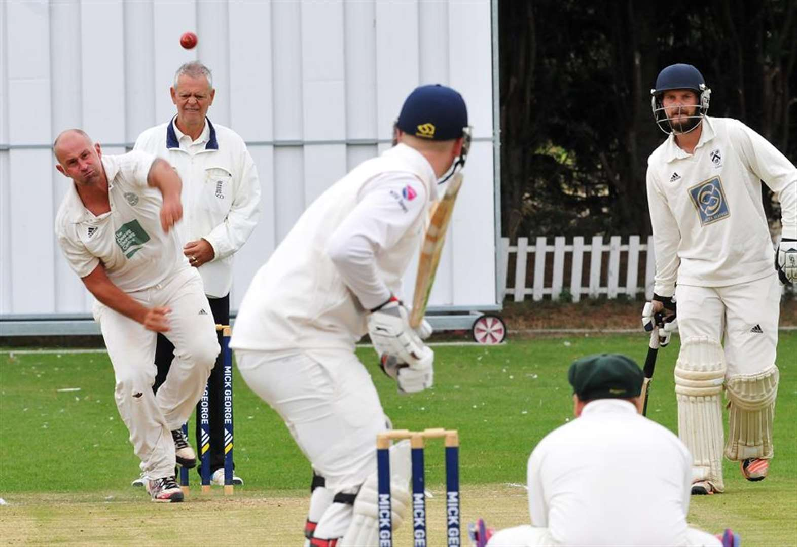 CRICKET: Extra time takes Bourne to target