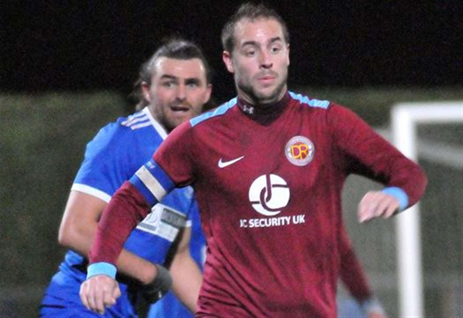 FOOTBALL: Job done as Clarets claim second place