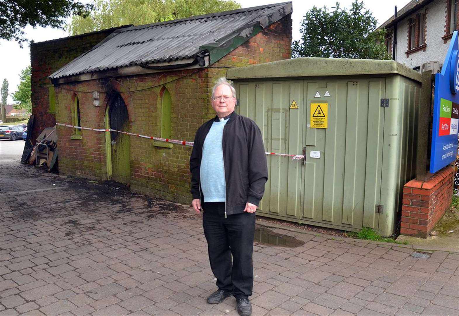 Community rallies round after arson attack at Long Sutton church store