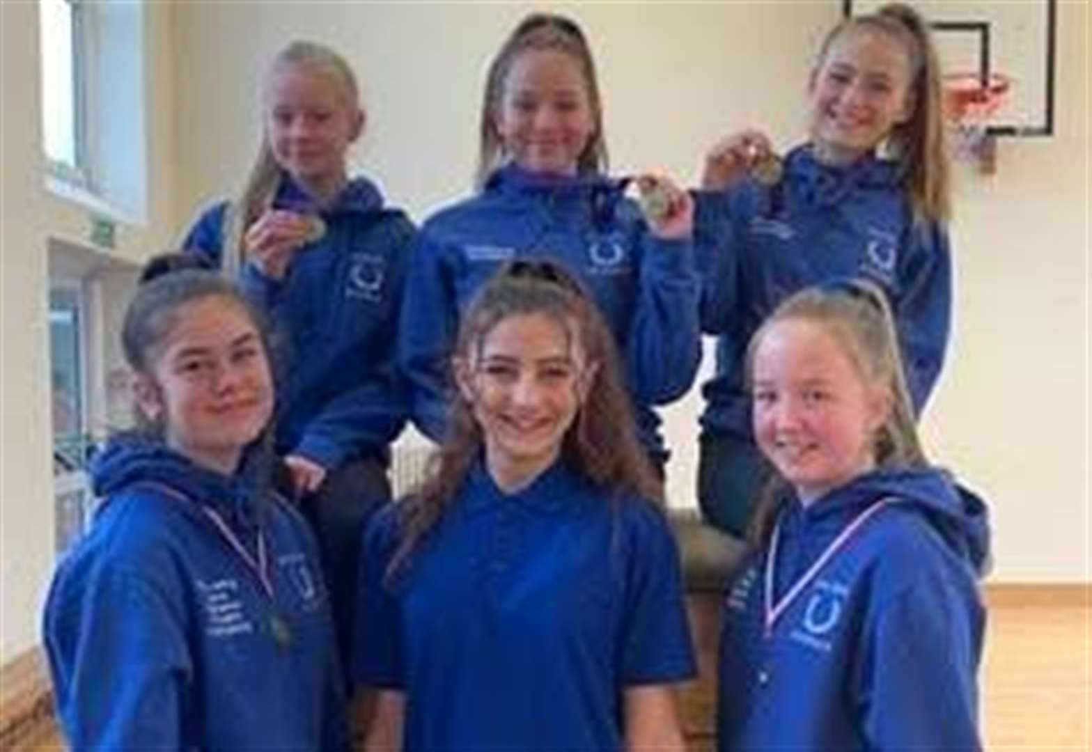 TRAMPOLINING: Academy aces in the top three