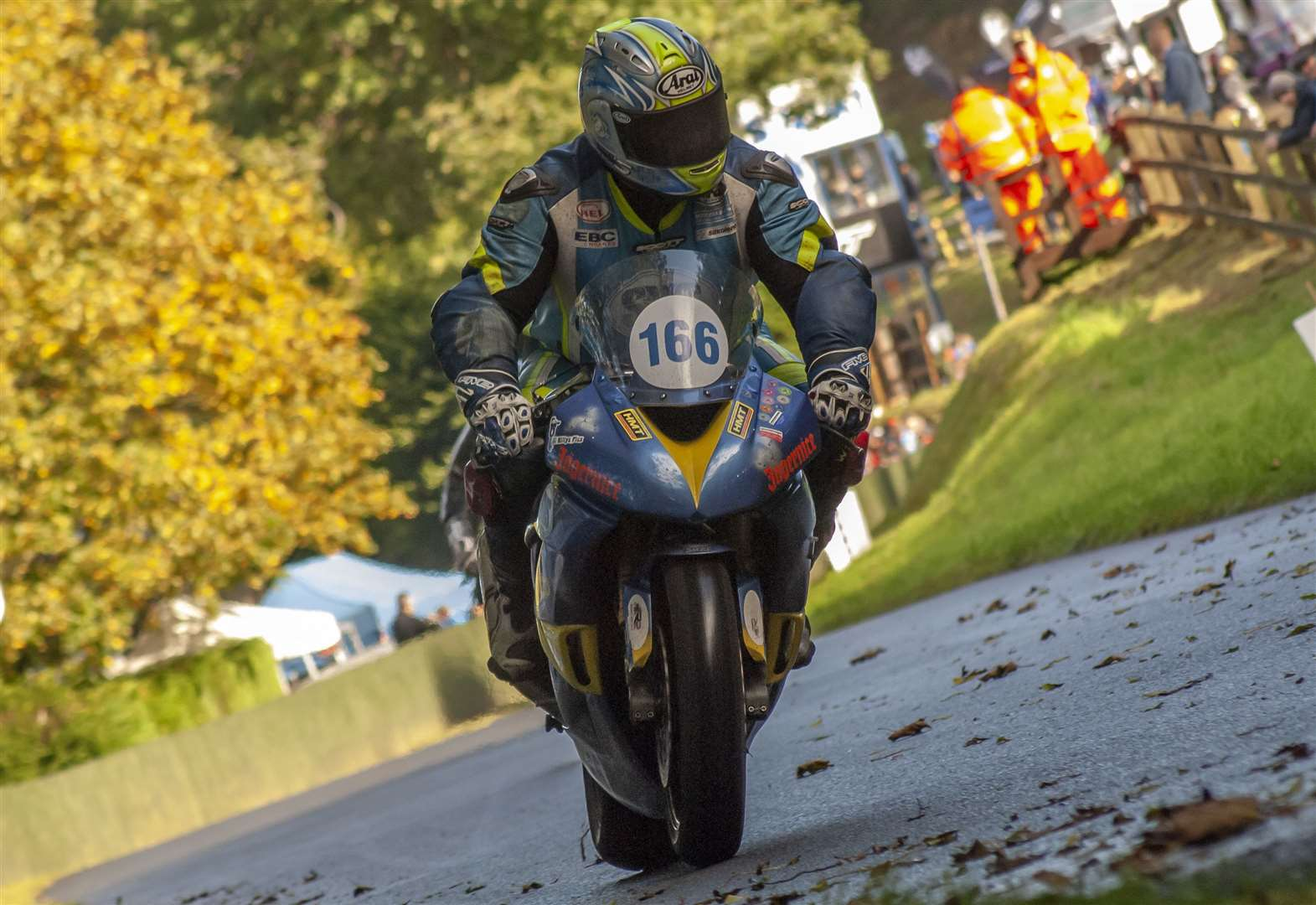 MOTORCYCLING: Return to Oliver's Mount for Slater