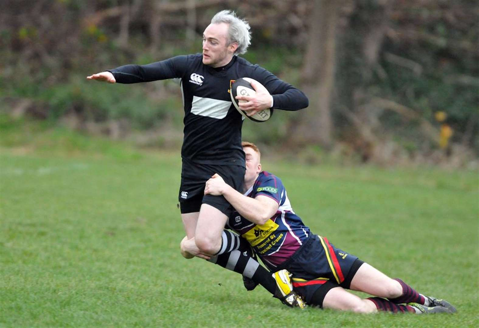 RUGBY: Spalding take home walk over win and leave stage for Nomads