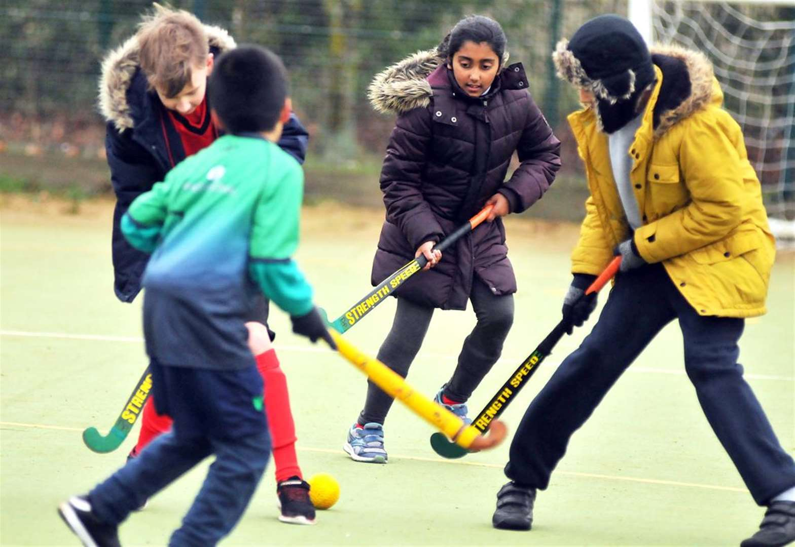 PICTURE GALLERY: Teams from Market Deeping and three Bourne schools battle it out in Quicksticks Hockey tournament