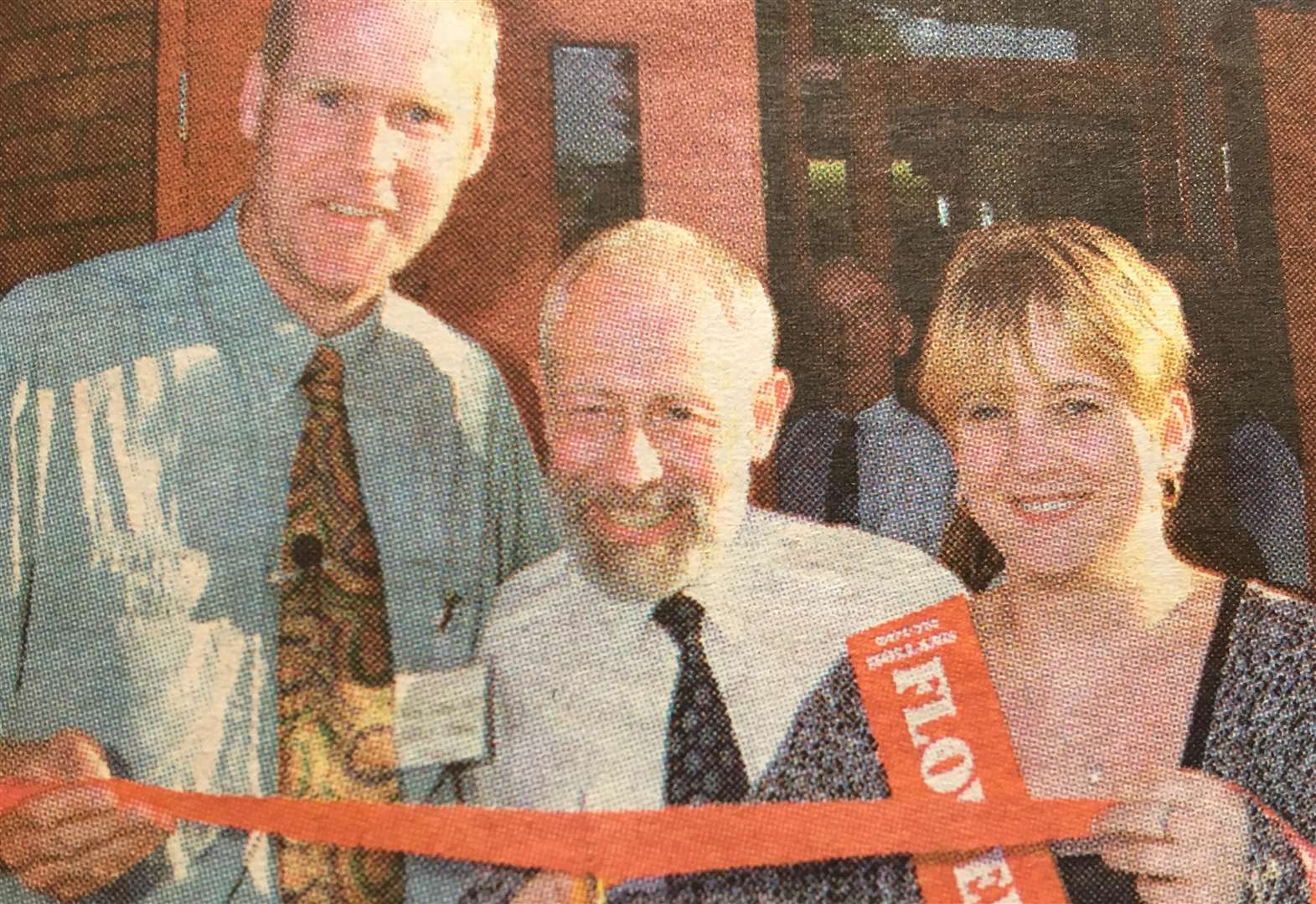 NOSTALGIA: Flower Queen opens village hall in '99