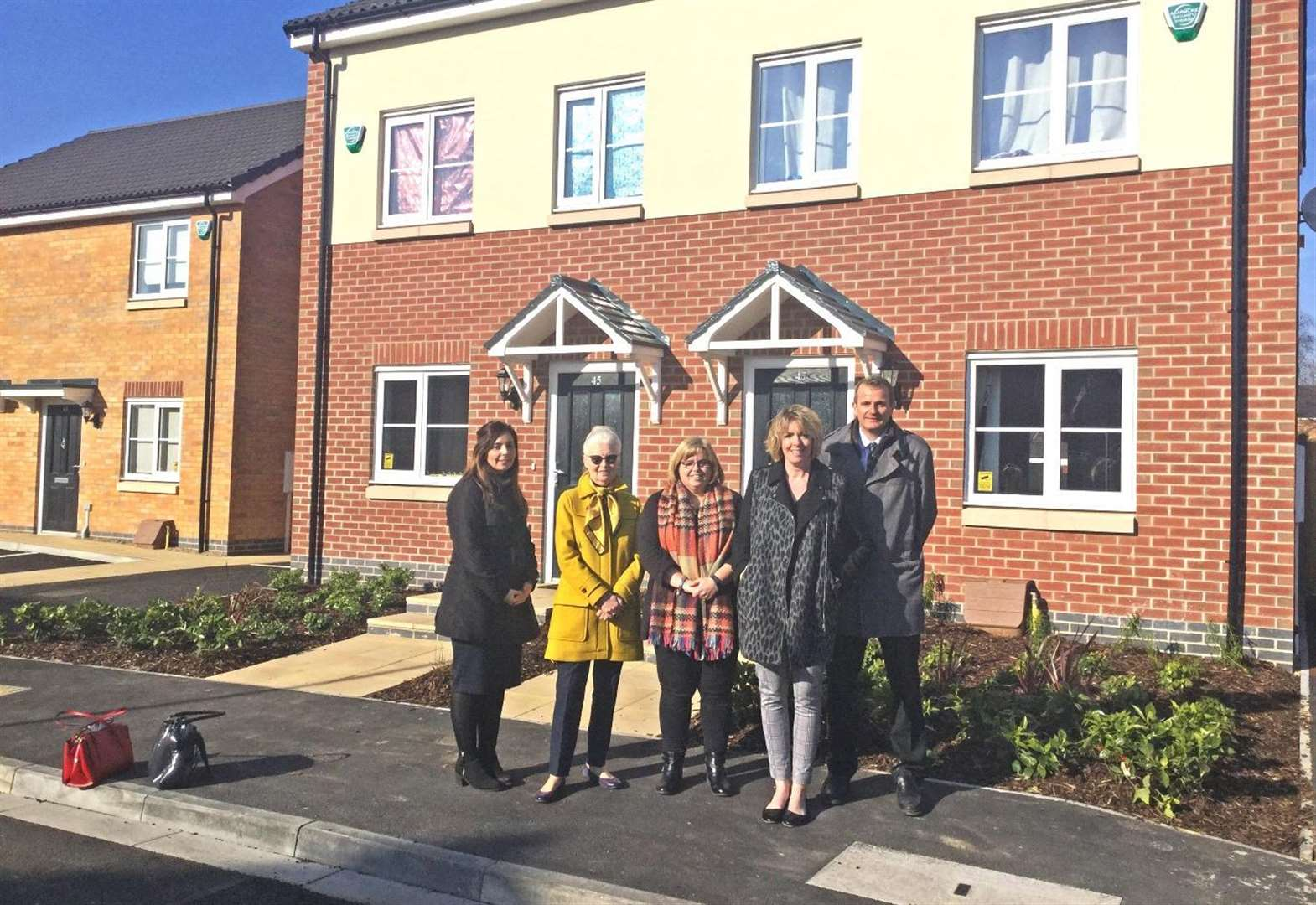 Affordable homes completed at Spalding site