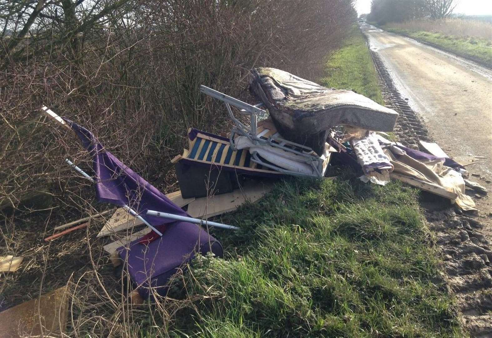 It's a fly-tipping epidemic in South Holland