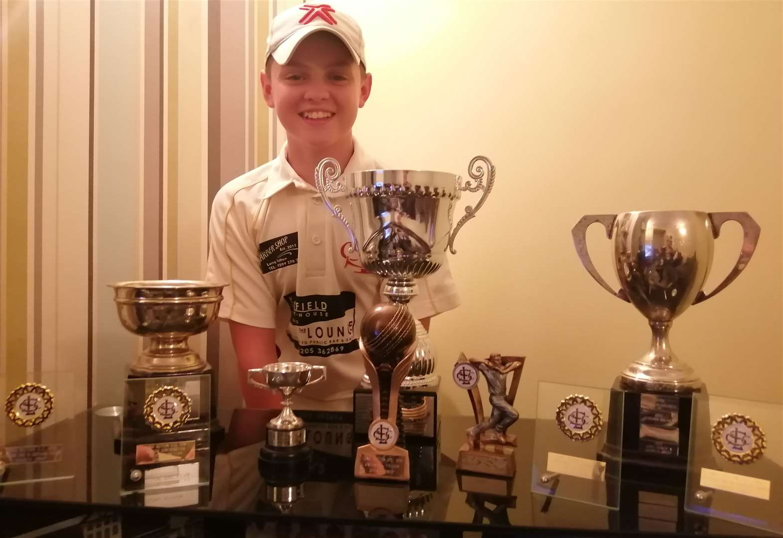 CRICKET: Charlie collects series of awards
