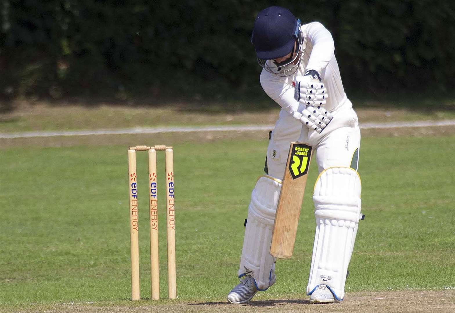 CRICKET: Match tied for the top two
