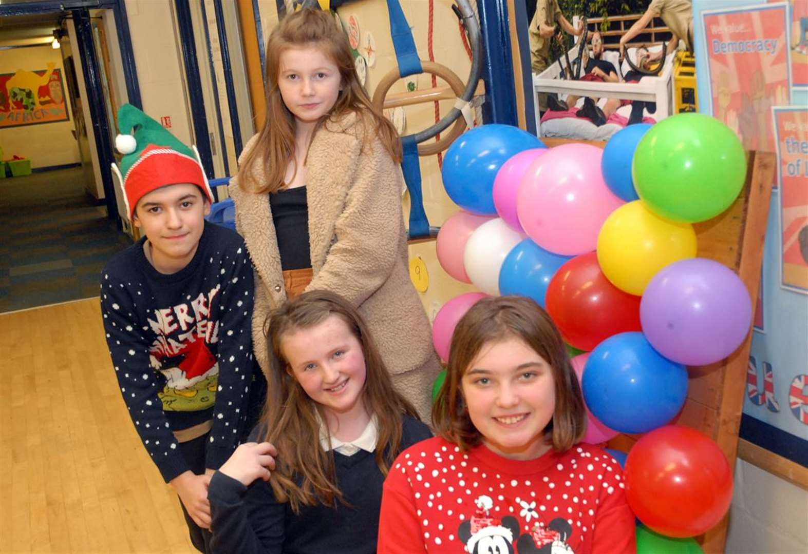 More than £2,300 at school Christmas fair