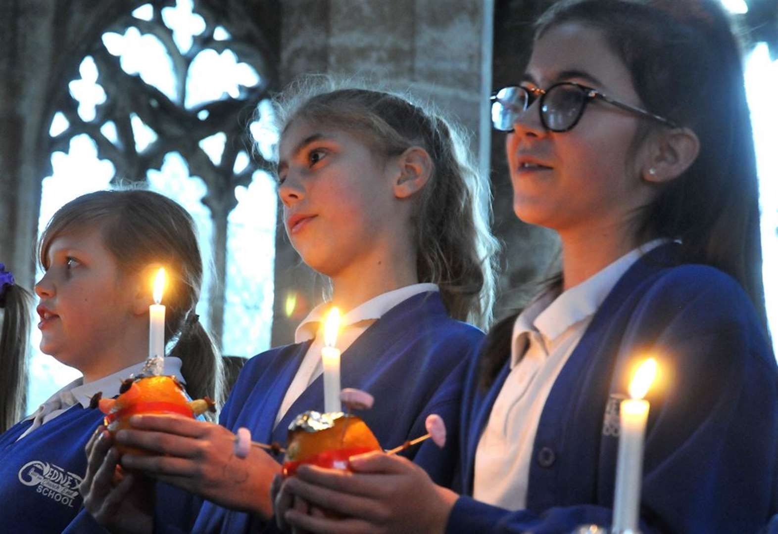 Christingle service is highlight of the school year