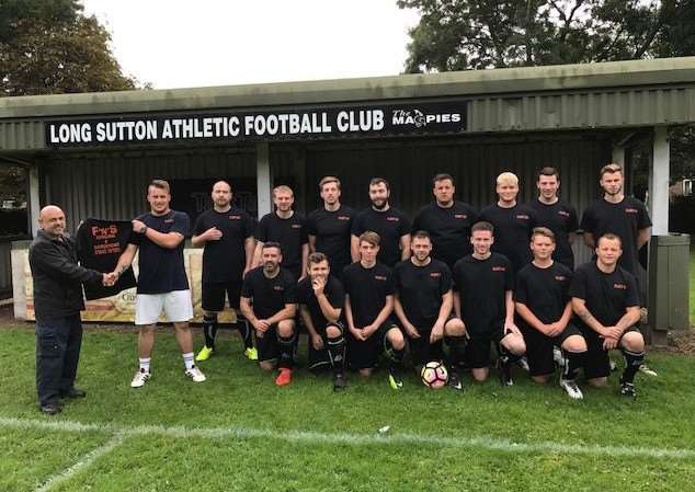 Long Sutton Athletic marked their home debut in the King's Lynn & District Sunday League by beating Clenchwarton 4-2 with goals for Max Bunn, Chris Ward, Lewis Machin and Ryan Howard.