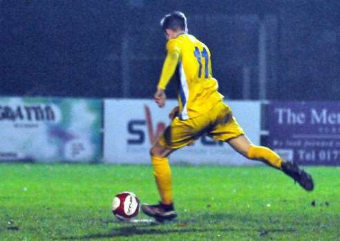 Jonny Lockie completes his hat-trick from the penalty spot