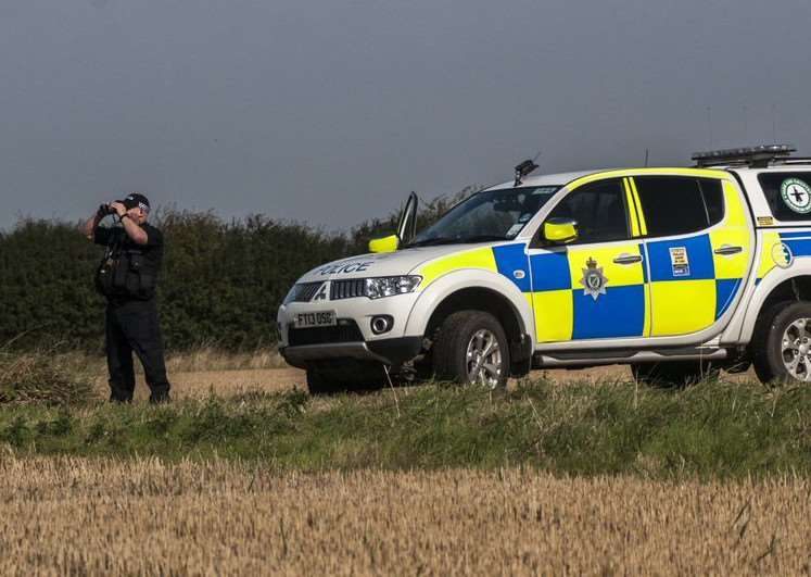 Lincs police on Operation Galileo patrol