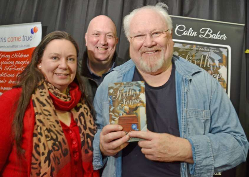 Doctor Who's Colin Baker was a hit with fans at last year's event. (SG260217-133TW)