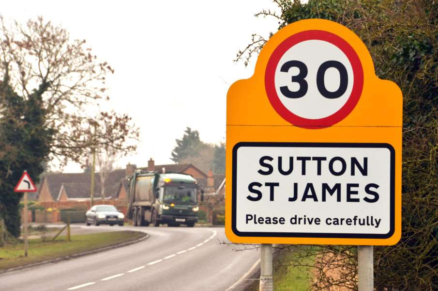 Sutton St James Parish Council news.