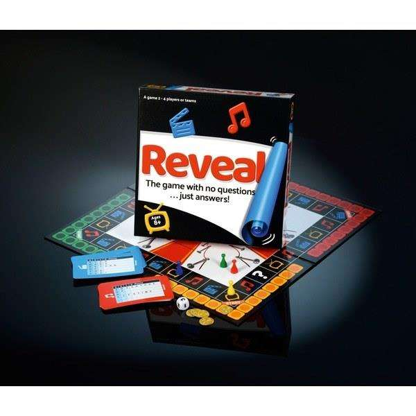 Board game 'Reveal' designed by James Smith, is on the shelves of Smyths Toys and available online. (4480574)