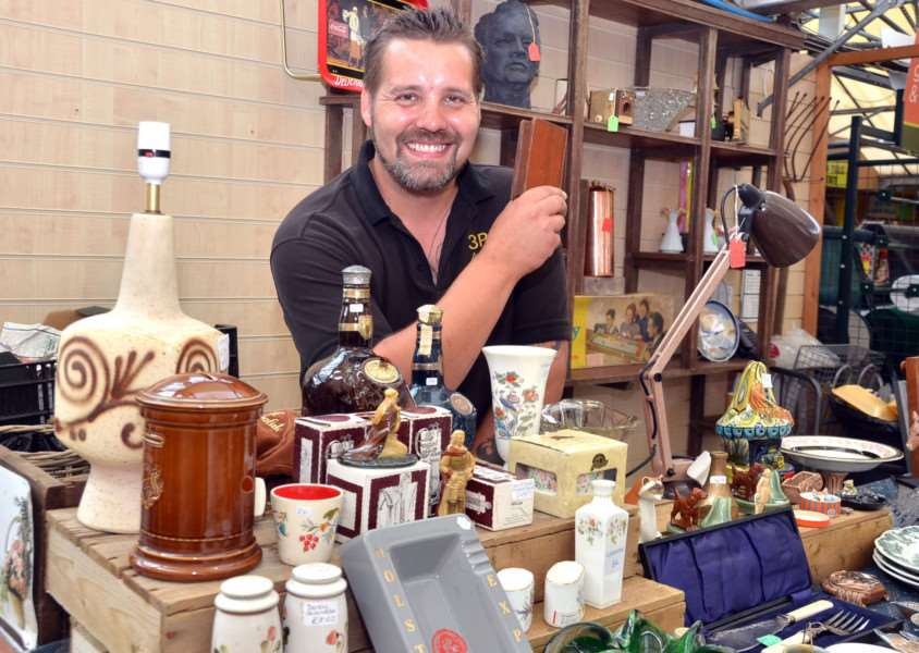 Iain Anderson, who runs 3 Pieces of Eight Antiques, is co-organising the antiques fair (SG200817-114TW).