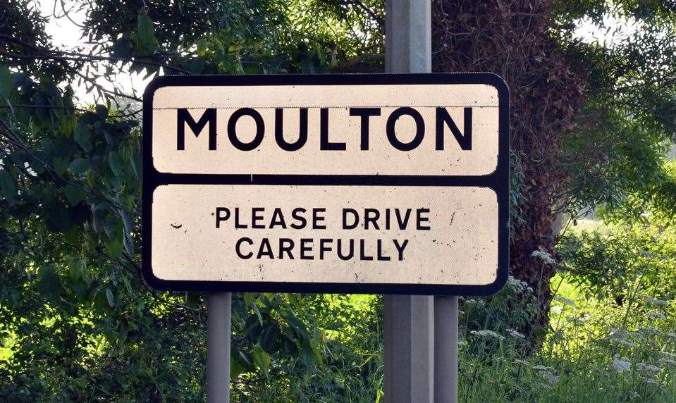 Moulton's A151 High Road could be in line for traffic calming measures.