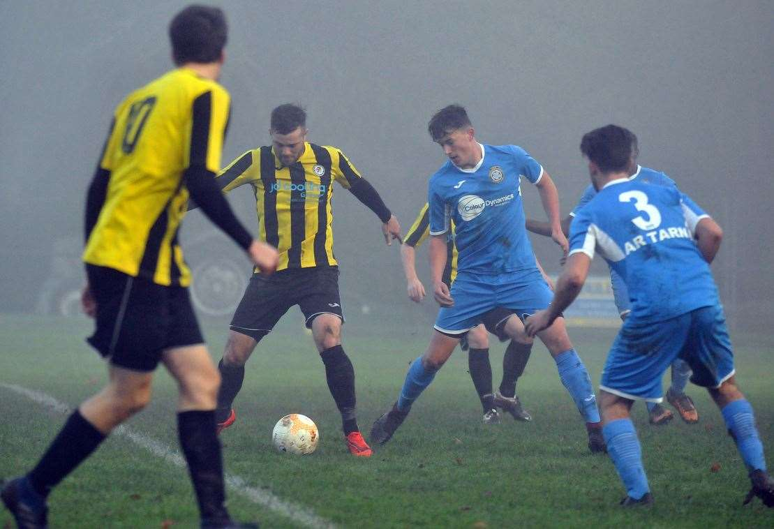 Action from Holbeach United v Desborough Town at Carter's Park.Photo by Tim Wilson.Photo (TIM WILSON): SG-301119-009TW.