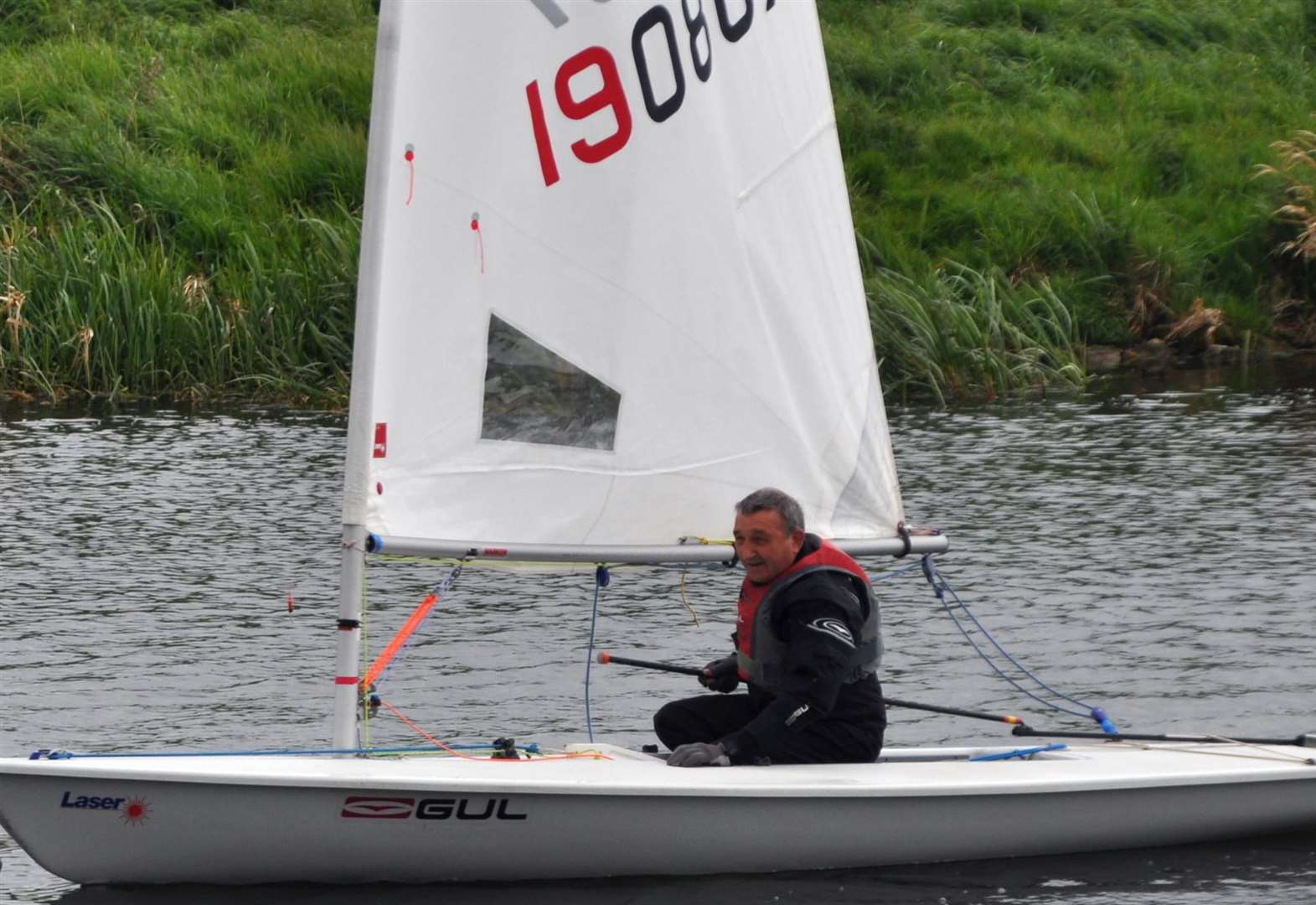 SAILING: Handicap earns victory for Cox