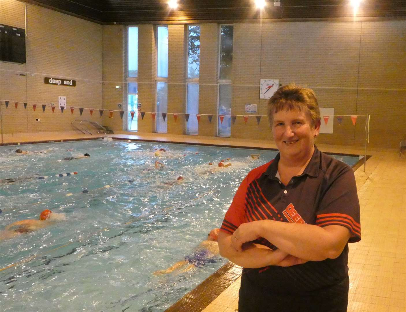 Deepings Swimming Club head coach Lynn Chapman.Photo supplied.