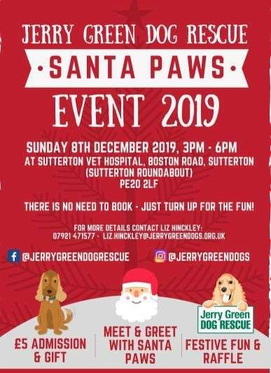 Santa Paws is coming to Sutterton Vets (22591230)