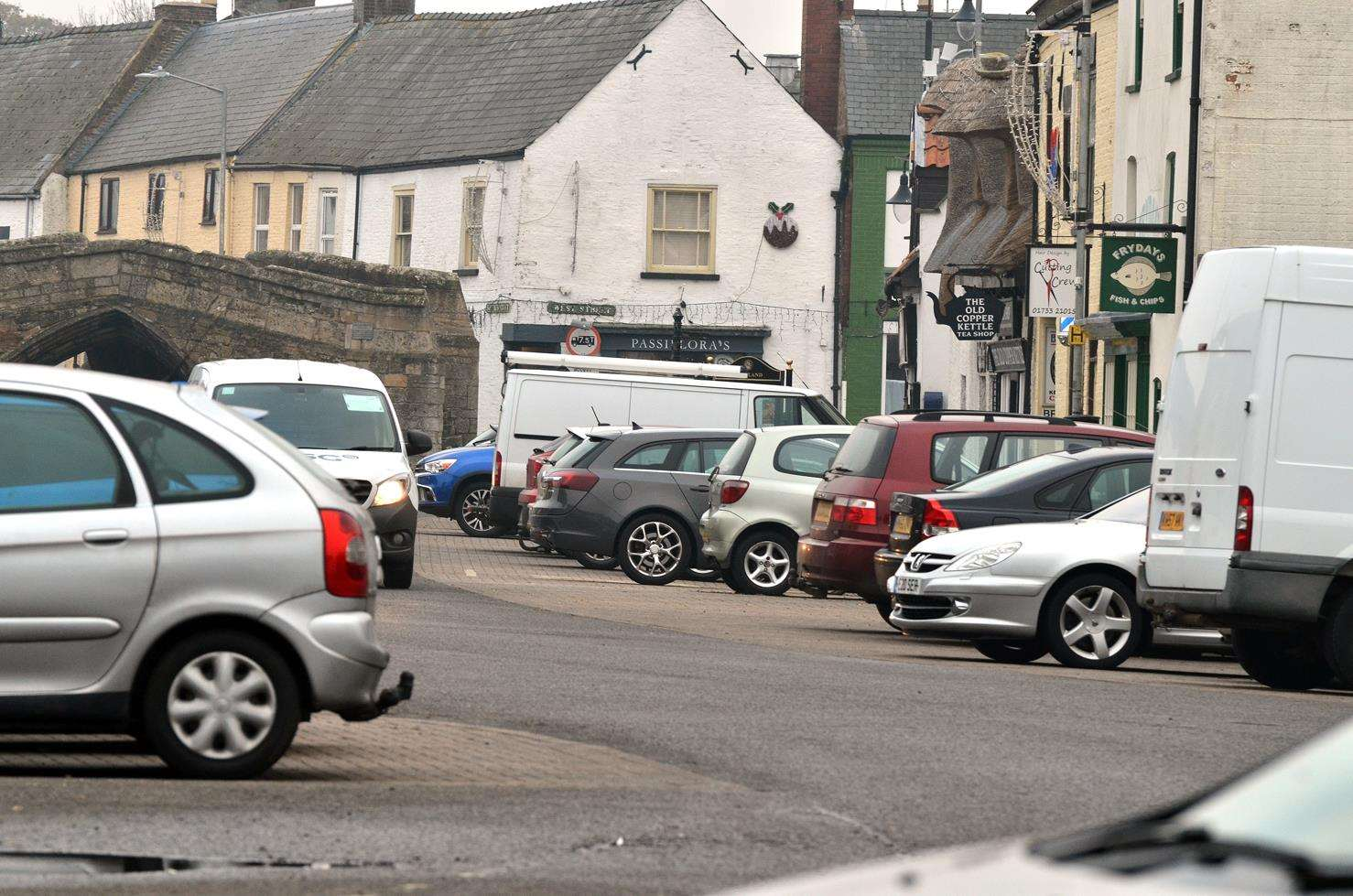 Crowland Parish Council is trying to find answers to a growing problem of parking in West Street.Photo by Tim Wilson.SG-231118-025TW.