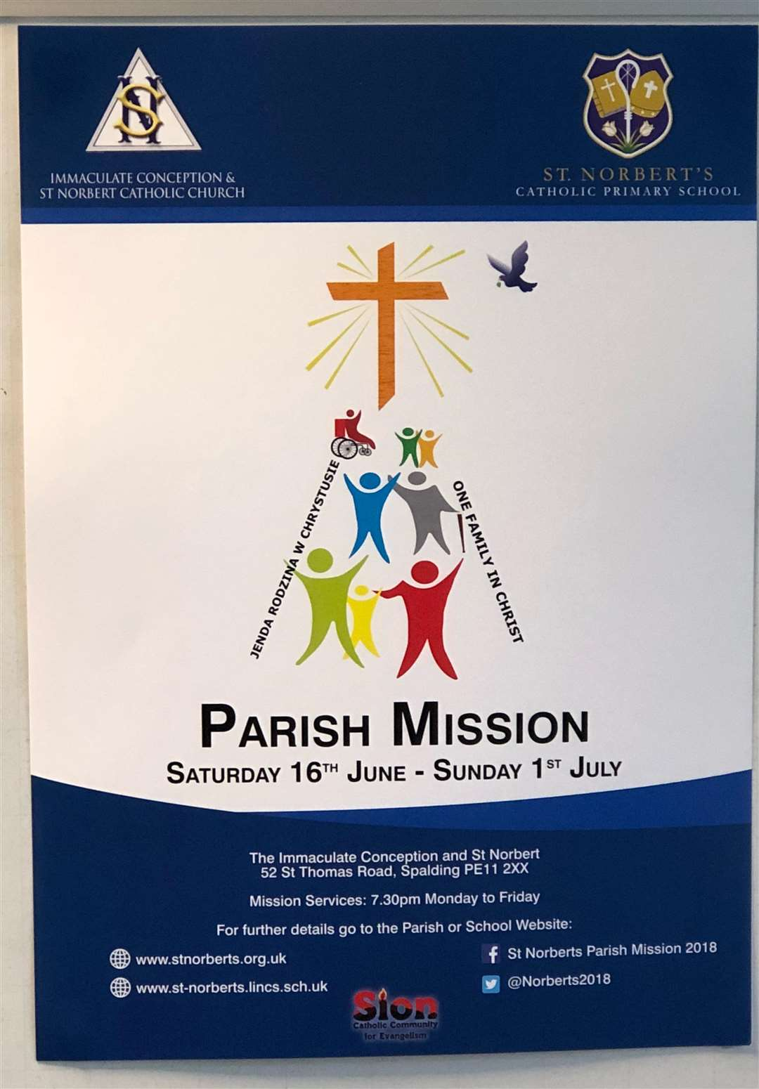 The Catholic Mission 2018 poster. (2387966)