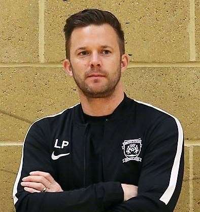 Leigh Porter, assistant manager at Deeping Rangers.
