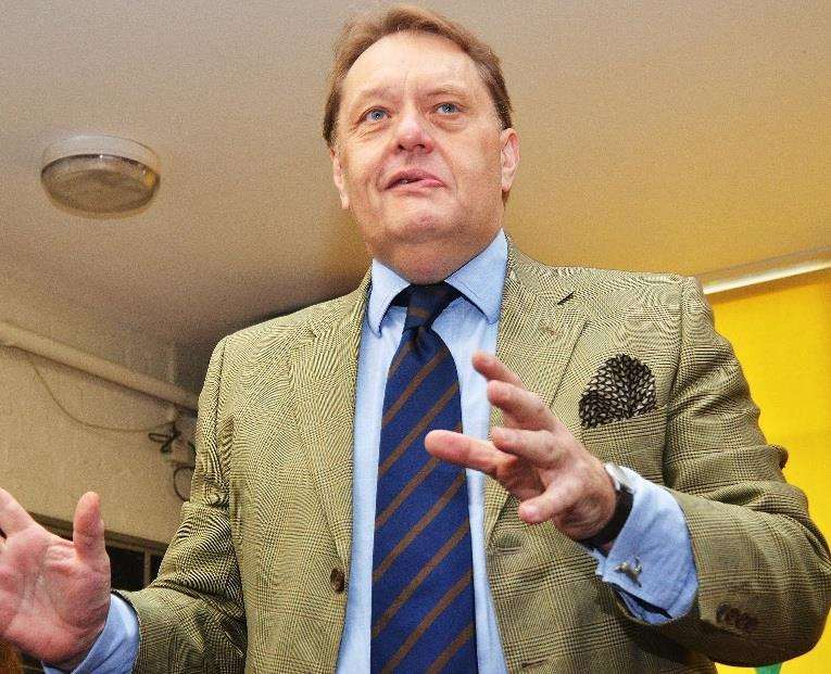 South Holland and the Deepings MP, John Hayes. Photo by Tim Wilson.