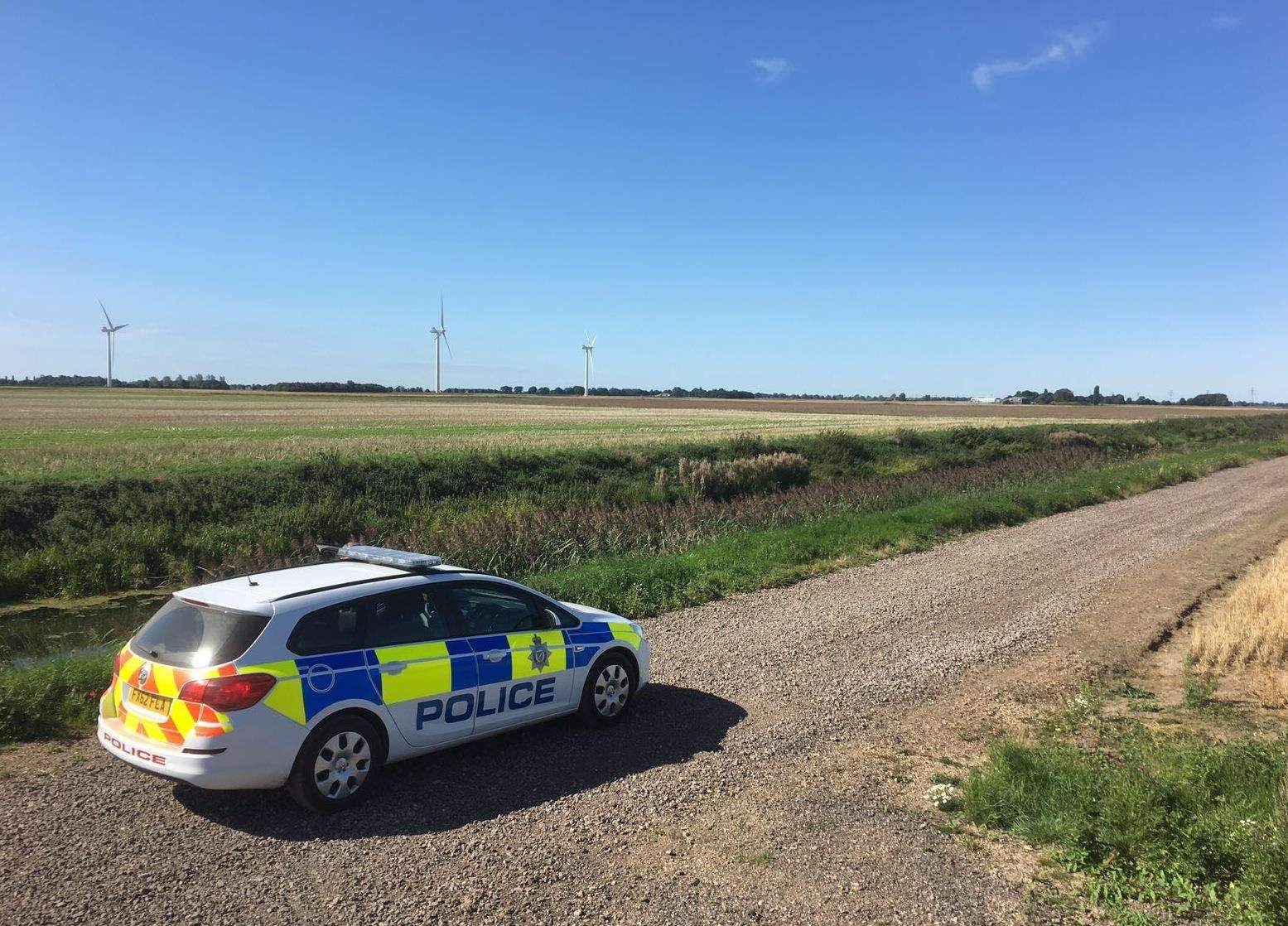 The latest figures from Operation Galileo show a 41 per cent drop in reported incidents for the last four months of 2018. Photo supplied by Lincolnshire Police.