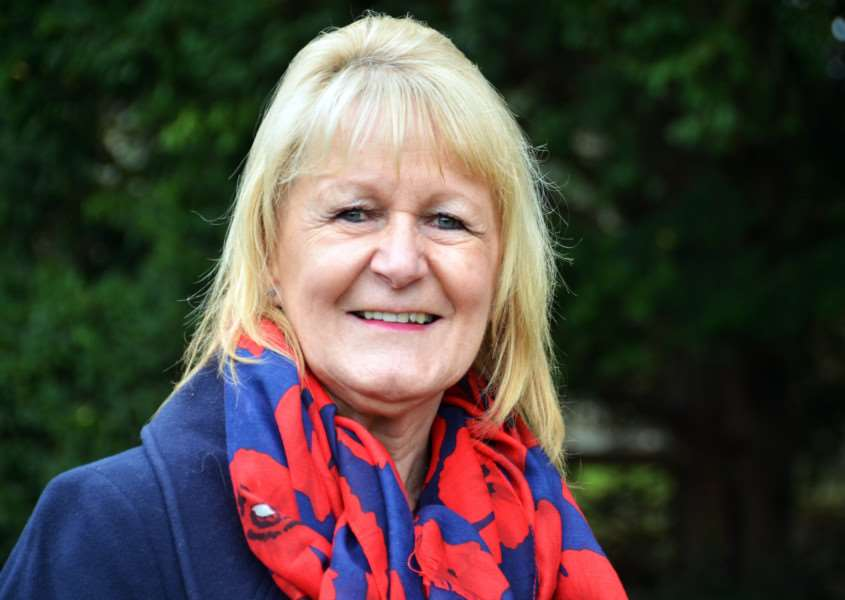 PRIME MOVERS: Jan Whitbourn, who was elected as a district councillor in November.