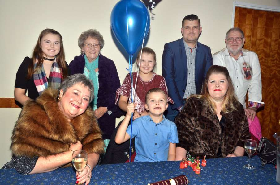 New Year's eve party at the South Holland Centre