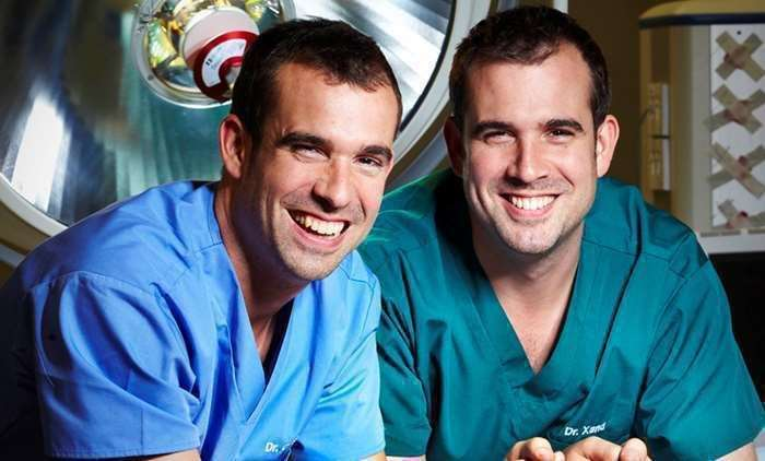 Operation Ouch! is presented by twin doctors Dr Chris and Dr Xand