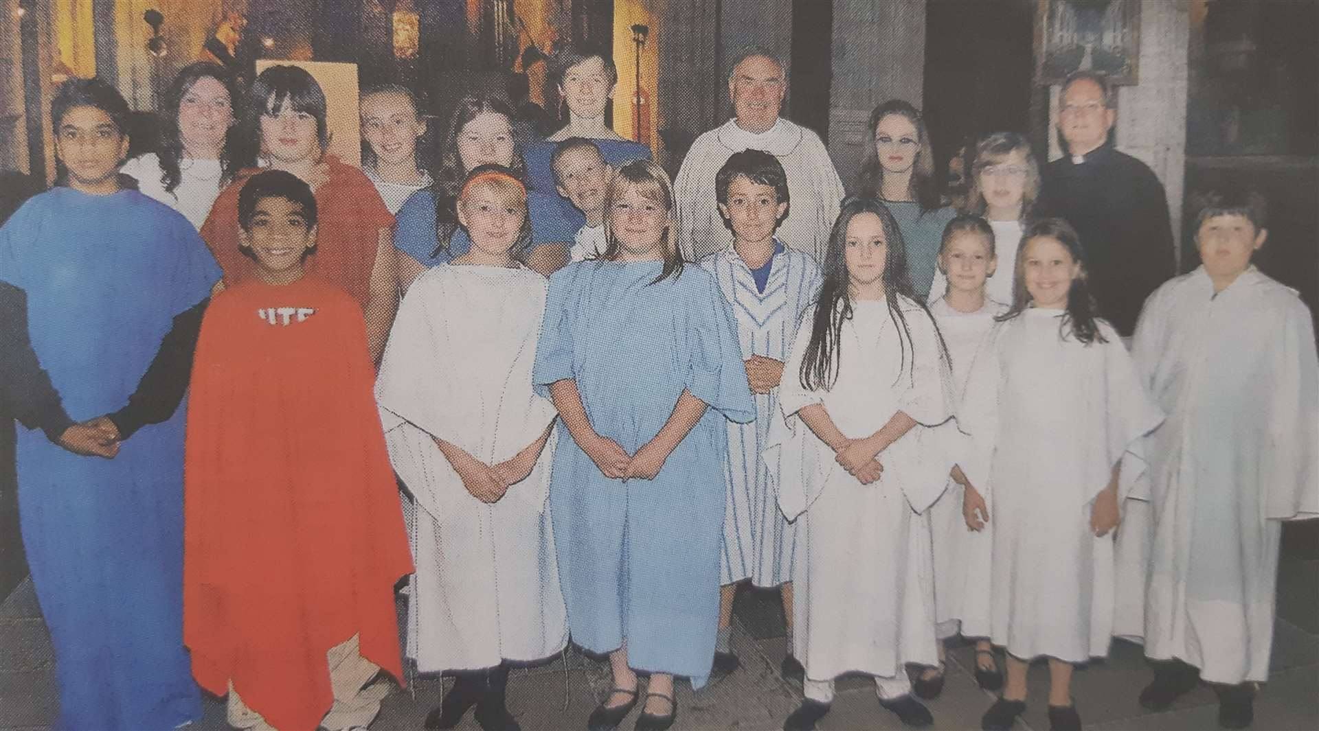 Young performers at All Saints Church in Holbeach back in 2009. (18272375)