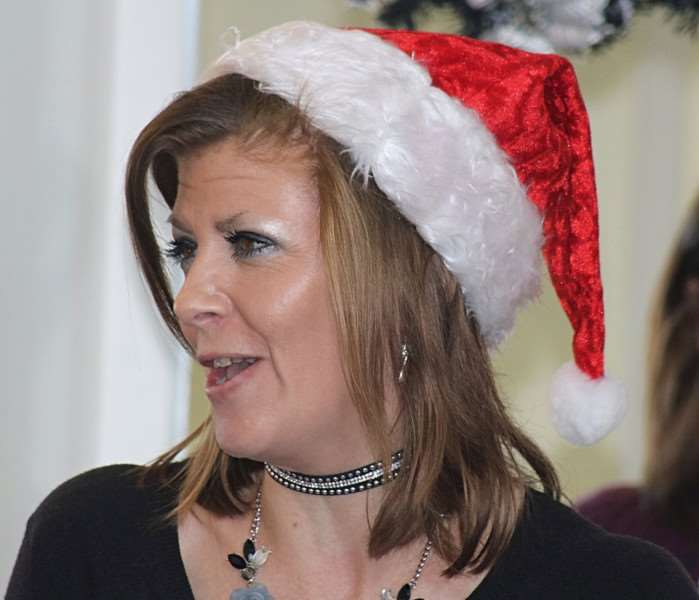 Tracey Carter is getting into the Christmas spirit early this year.