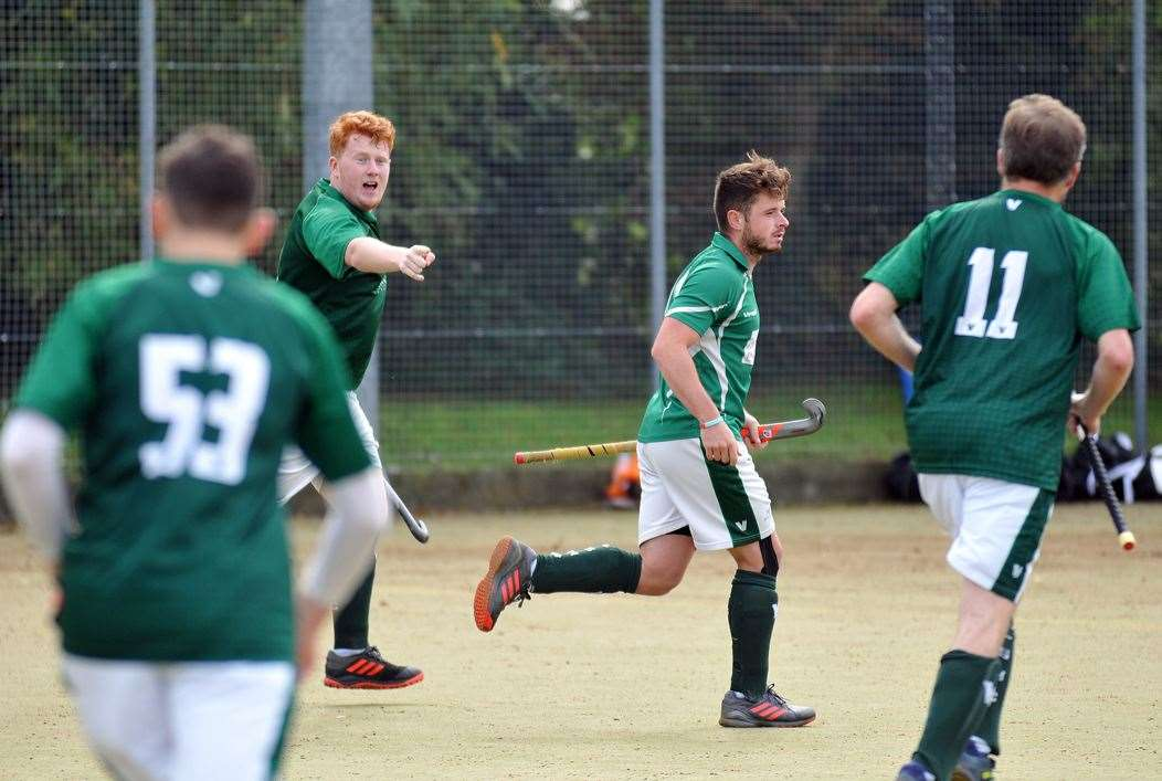 Long Sutton Men's 1sts (pictured in action against Pelicans) lost at home 6-1 to Norwich City 2nds.Photo by Tim Wilson.SG-051019-067TW.