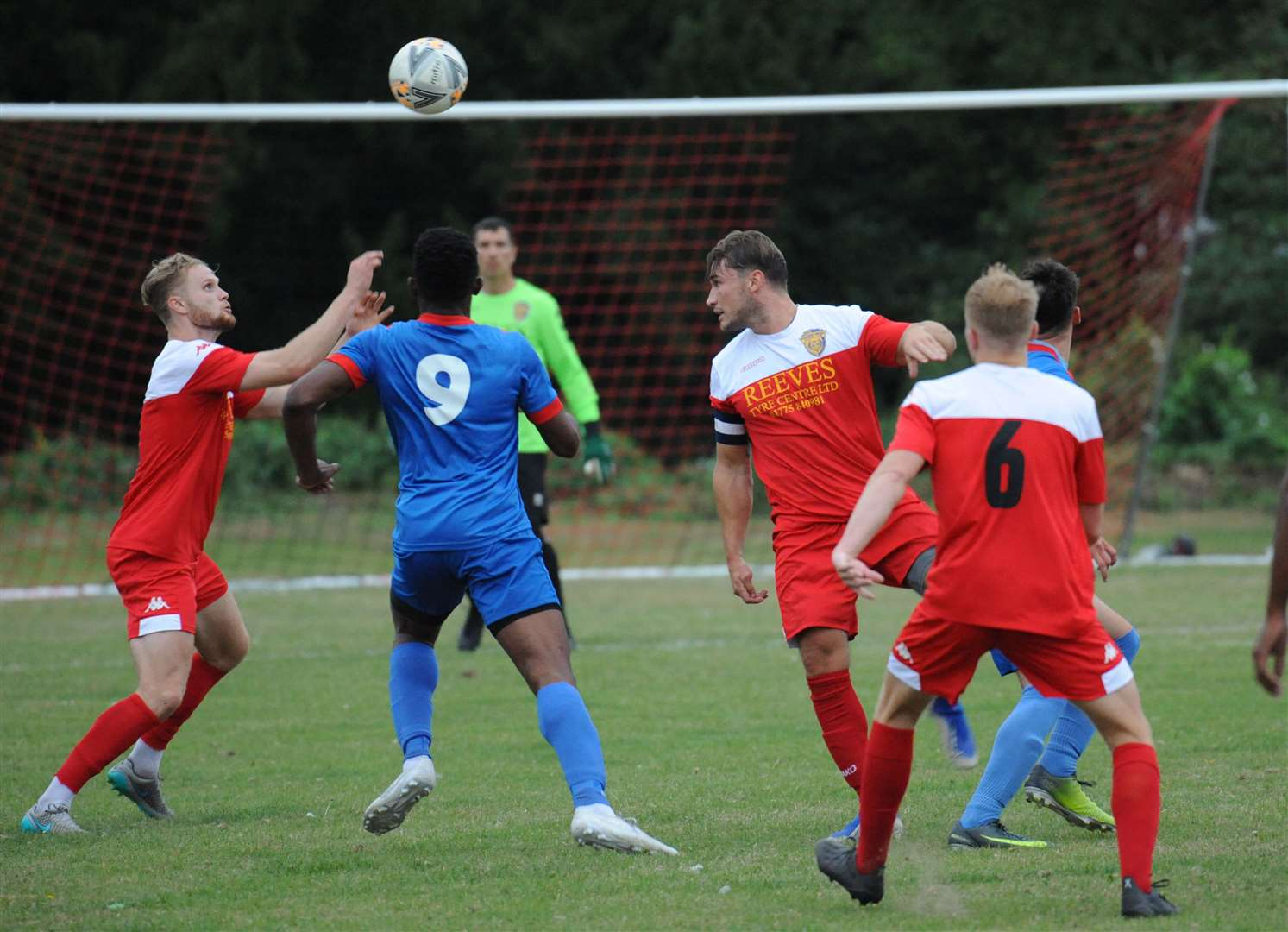Pinchbeck United held Spalding United to a 1-1 draw in pre-season.