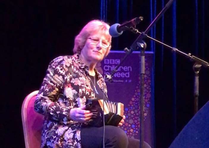 Penny Sykes, who is a regular performer at Spalding Folk Club, came third in the BBC Song for Lincolnshire final 2017.
