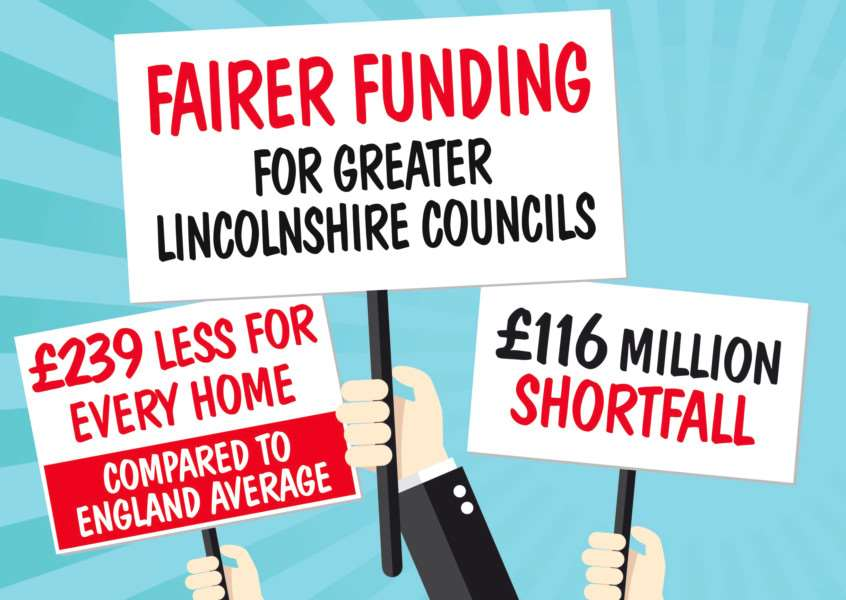 Lincolnshire political leaders have taken their fight for a fairer funding deal from the Government to the House of Commons. Photo supplied by Lincolnshire County Council.