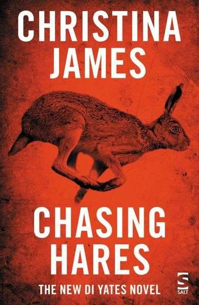 Chasing Hares by Christina James. Bookmark in Spalding's Book of the Week. (21482843)