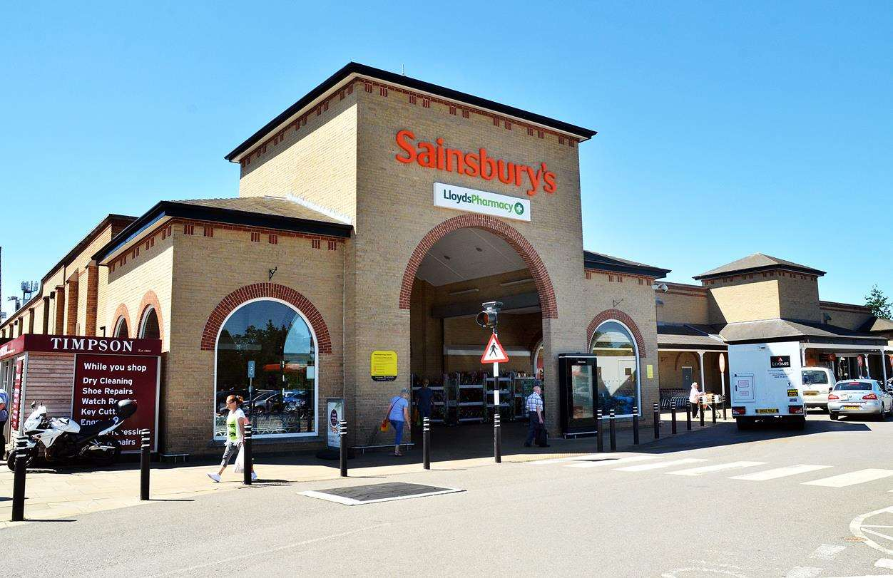 Sainsbury's Spalding store in Holland Market.