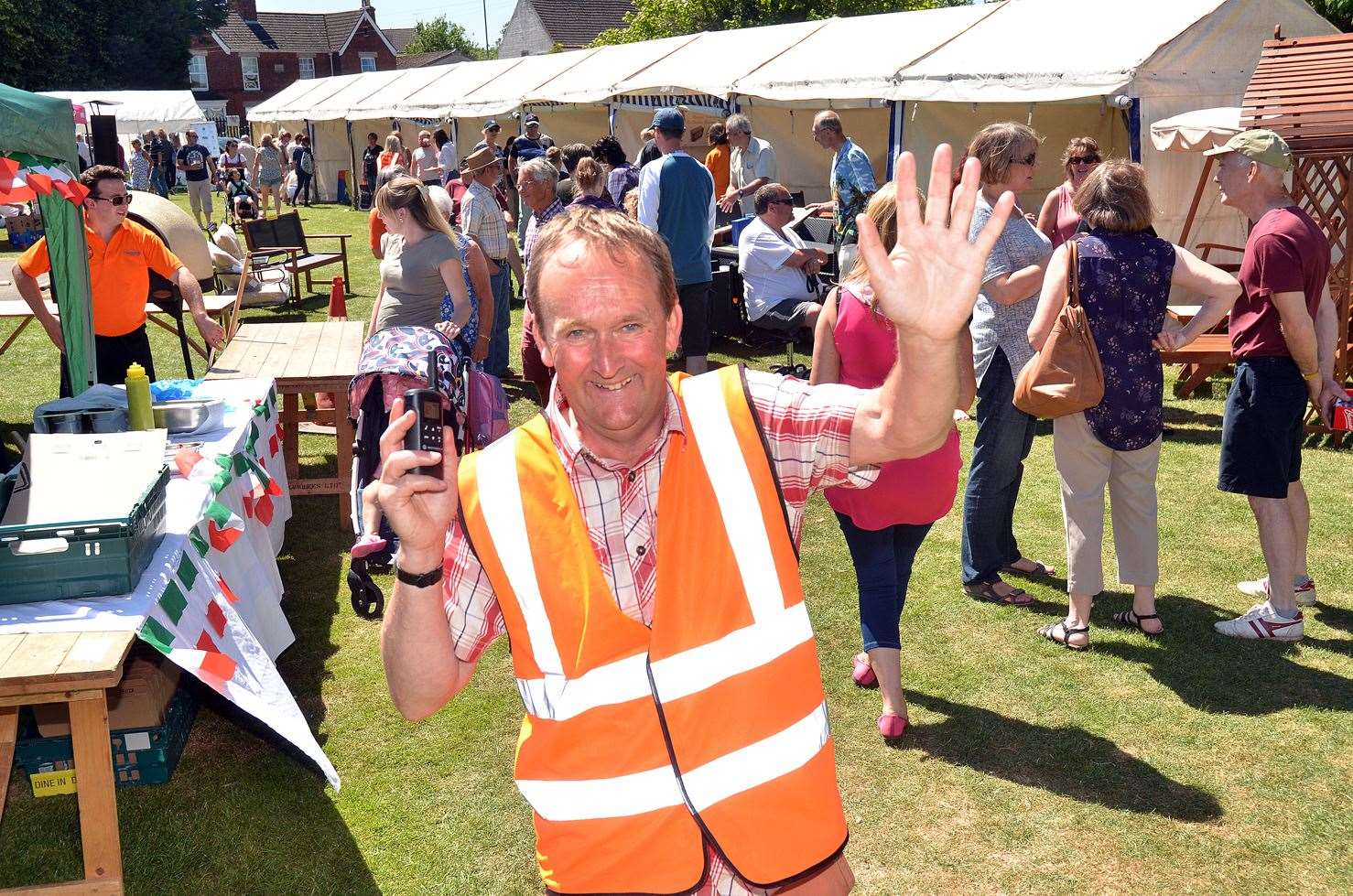 Organiser, District Councillor Nick Worth, was pleased with the turnout at last year's Holbeach Food Festival. (2805036)