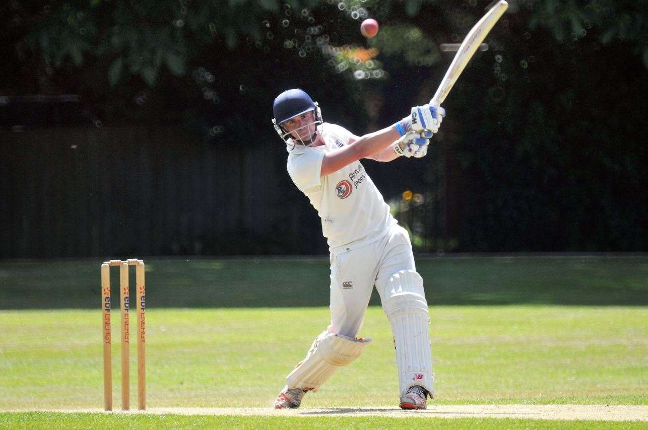 Josh Bentley will be hoping to pile on the runs for Bourne at Spalding after managing just seven in his side's 18-run win against Billingborough.