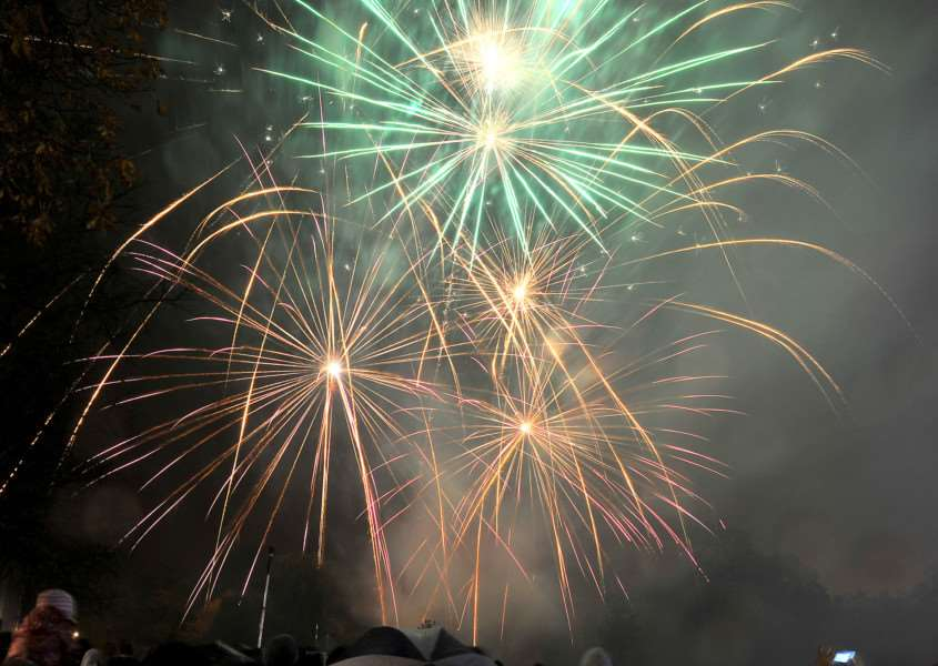 Library picture: Donington will have a big fireworks night on November 3.