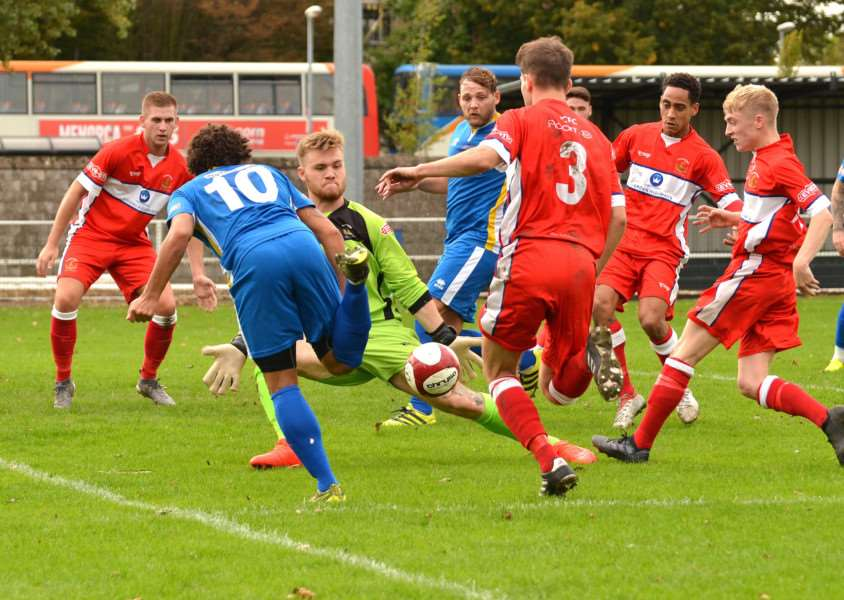 Spalding recorded a 2-0 home win over Chasetown in the Evo-Stik South last month.