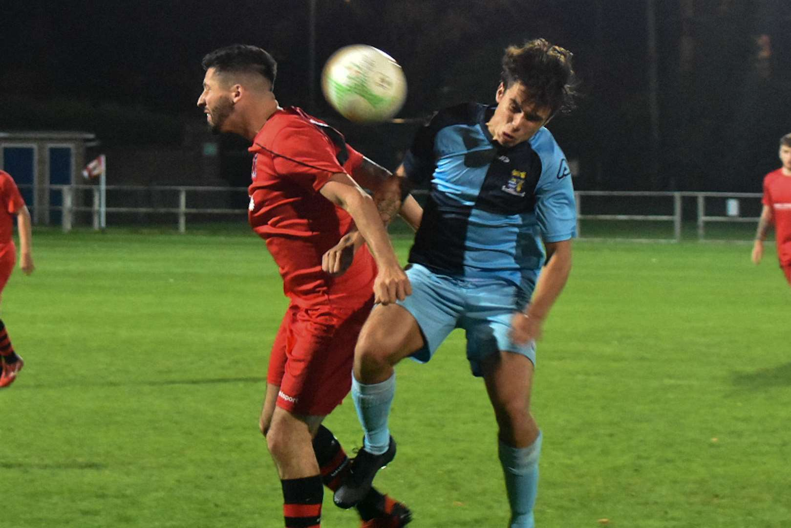 St Neots knocked Pinchbeck out of the FA Cup. Photo by Alexandra Gomes.