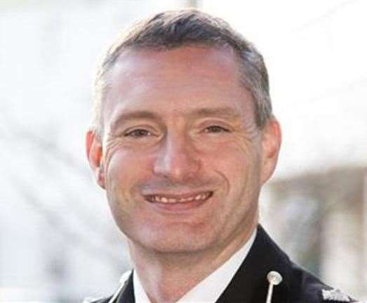 Chief Constable Bill Skelly of Lincolnshire Police.