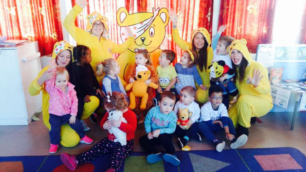 Pudsey day for Pinchbeck Penguins