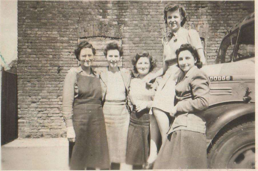 Leverton Stores office staff pictured in May 1947